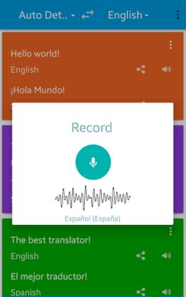 Traduzir voz Pro 01