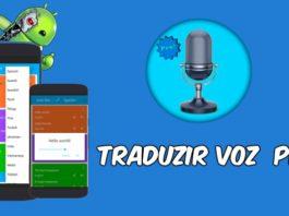 Traduzir voz pro