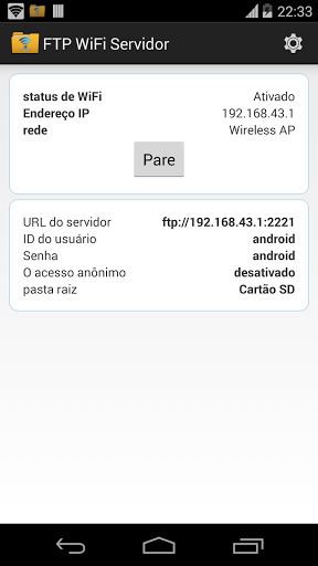 Android ftp server pro apk