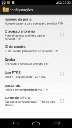 WiFi Pro Server FTP