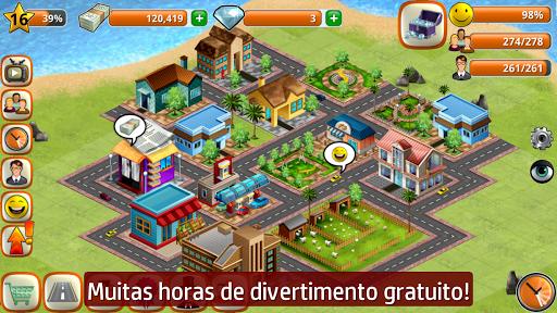 A Vila Simulador de ilha