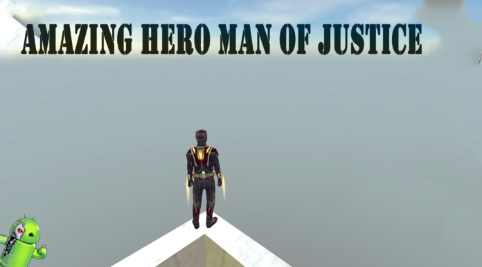 Amazing Hero Man Of Justice