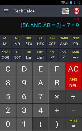 Calculadora Científica Adfree