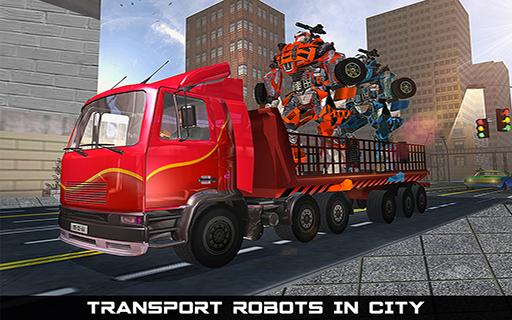 Car Robot Transport Truck