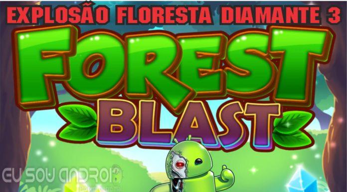 Explosão Floresta Diamante 3