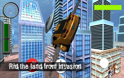 Flying Car X Ray Simulator