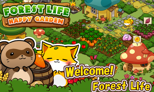 Forest Life Happy Garden