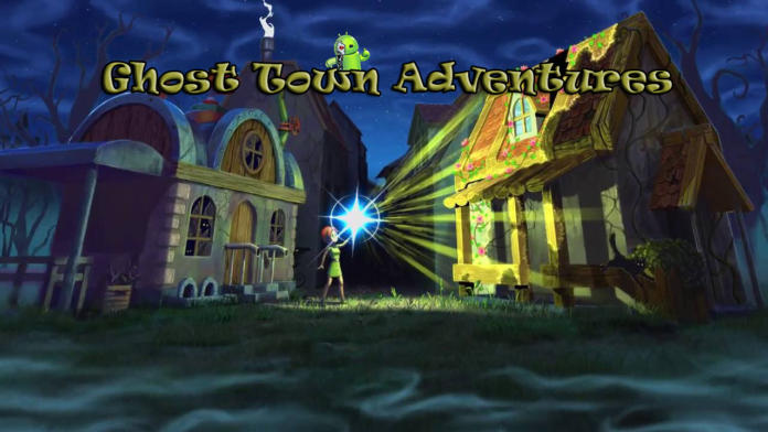 Ghost Town Adventures Capa