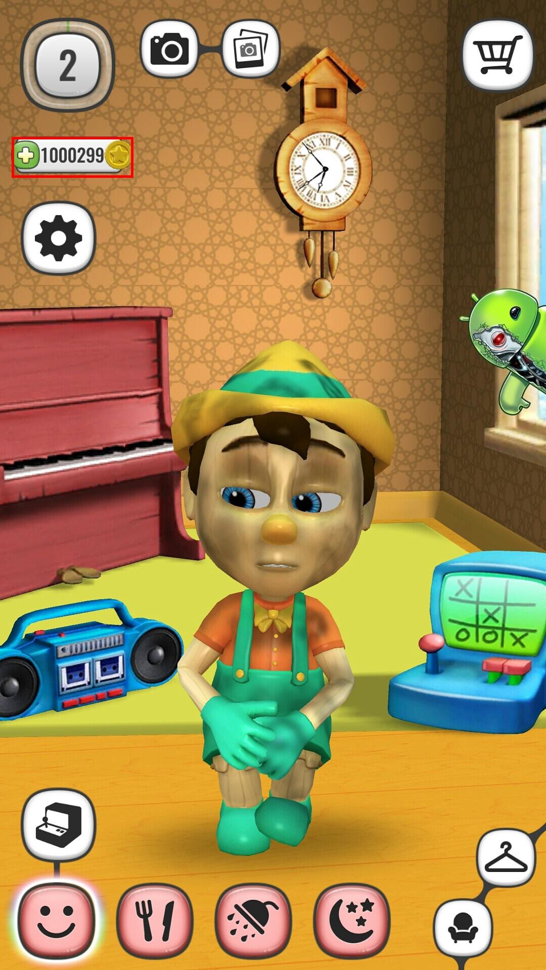 Meu Pinoquio Boneco Falante