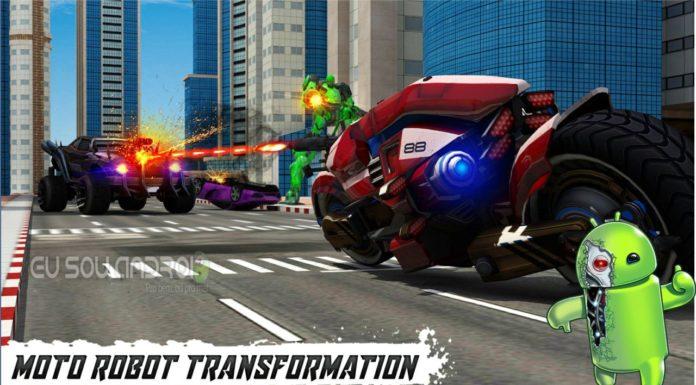 Moto Robot Transformação