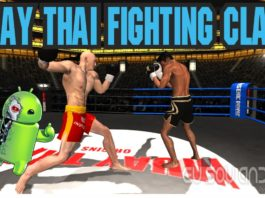 Muay Thai Fighting Clash