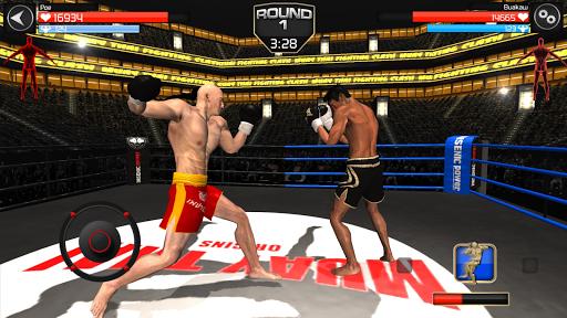 Muay Thai Fighting Clash