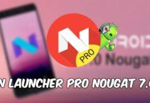 N Launcher Pro Nougat 7.0