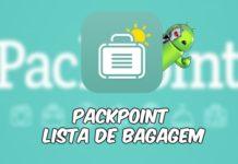 PackPoint Lista de Bagagem