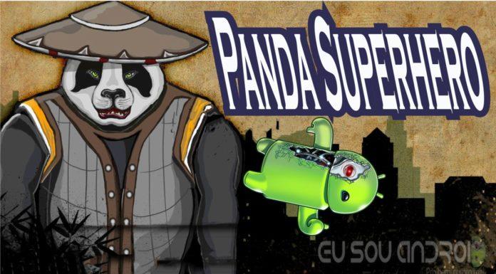 Panda Superhero