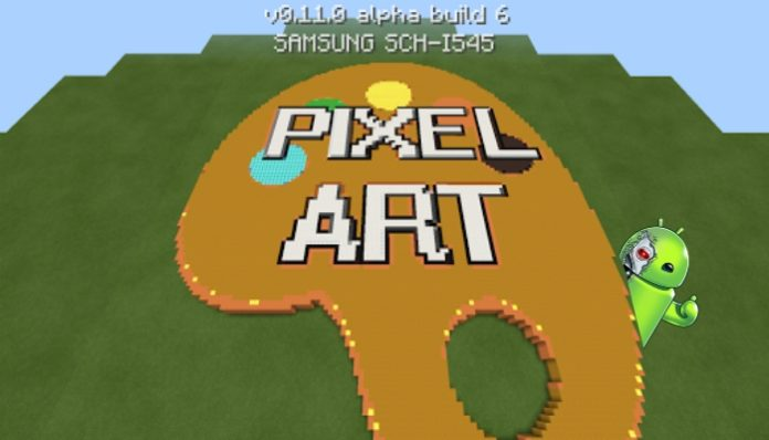 Pixel Art Generator for MCPE