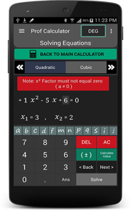 Prof Calculator