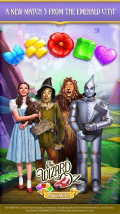 The Wizardof Oz Magic Match