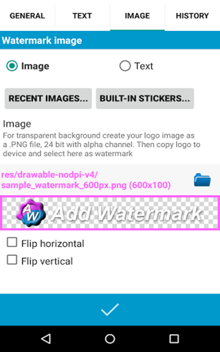 how to add watermark to lightroom 6