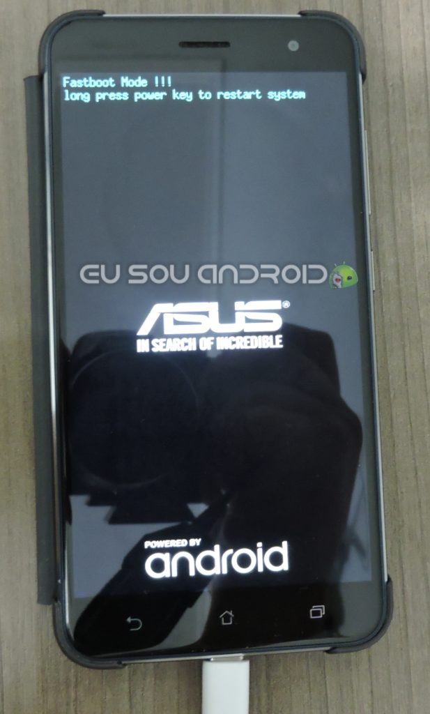 Asus zenfone 3 Modo Download Fastboot 1