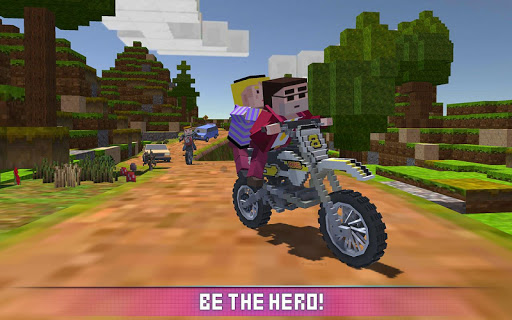 Blocky Motorbike SIM 2017