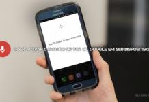 """como ativar o comando de voz """"OK Google"""" em seu dispositivo"""
