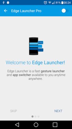 Edge Launcher Pro