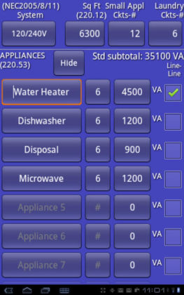 Electrical Load Calc Pro
