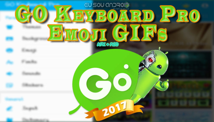 GO Keyboard Pro Emoji GIFs