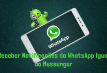 Notificações do WhatsApp Igual ao Messenger