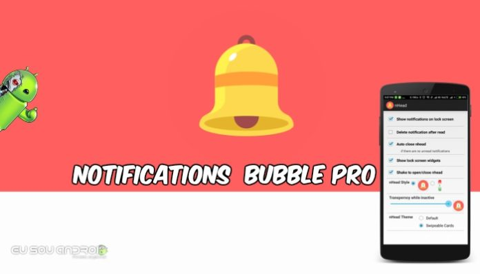 Notifications in bubble Pro