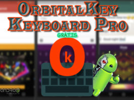 OrbitalKey Keyboard Pro