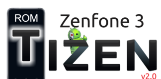Zenfone 3 ROM Tizen