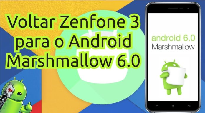 Downgrade Zenfone 3