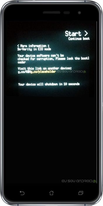 bootloader desbloqueado zenfone 3
