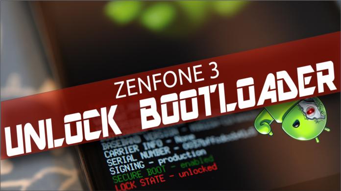 desbloquear bootloader zenfone 3