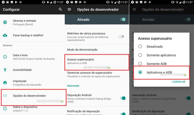 ROM LineageOS Zenfone 3 Android Nougat 7 1 2 30/08/17 - Eu Sou Android
