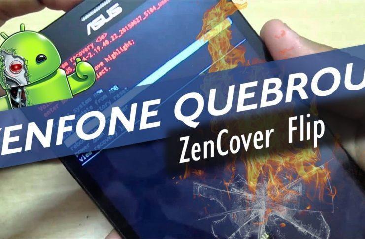 ZenFone 3 quebrou
