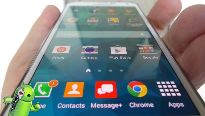 Atualização da TouchWiz permite fazer gestos para descer a barra de notificação