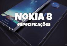 Nokia 8 especificações