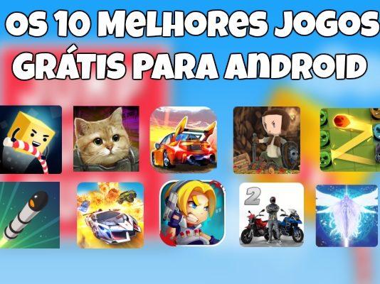 Os 10 Melhores Jogos GRÁTIS Para Android - #01 2017