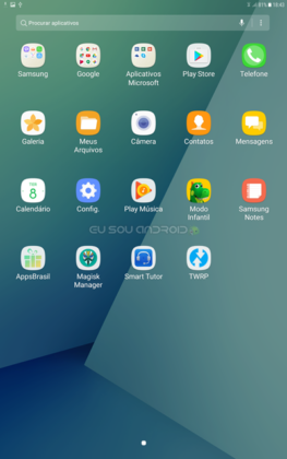 ROM 7.0 Nougat no Galaxy Tab A 2016 com ROOT FULL (2)