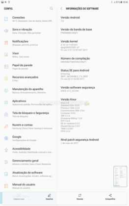 ROM 7.0 Nougat no Galaxy Tab A 2016 com ROOT FULL (8)