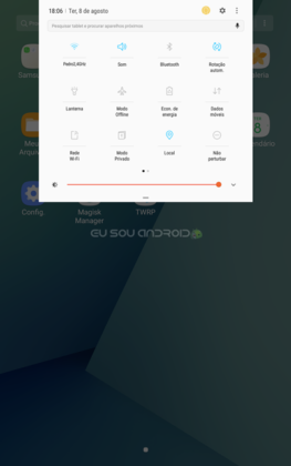 ROM 7.0 Nougat no Galaxy Tab A 2016 com ROOT versão Lite (4)