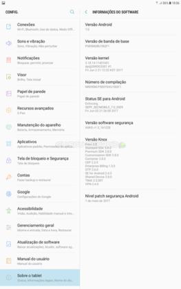 ROM 7.0 Nougat no Galaxy Tab A 2016 com ROOT versão Lite (8)