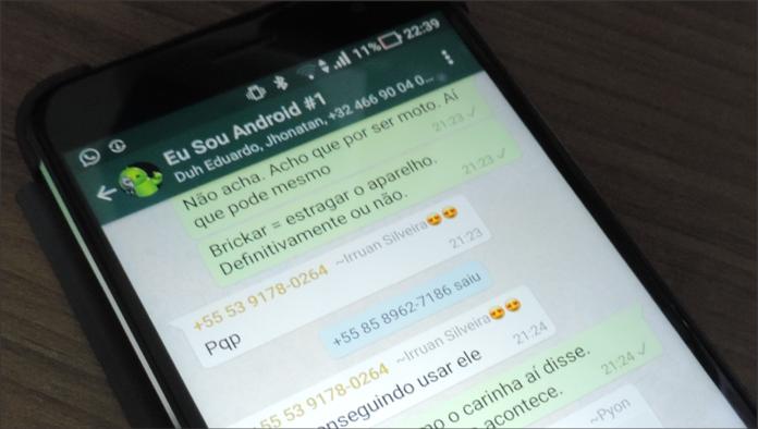eu sou androido whatsapp
