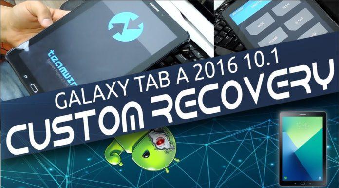 Custom Recovery Galaxy Tab A 2016