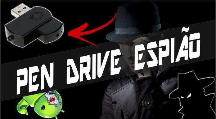 Pen Drive Espião com Câmera