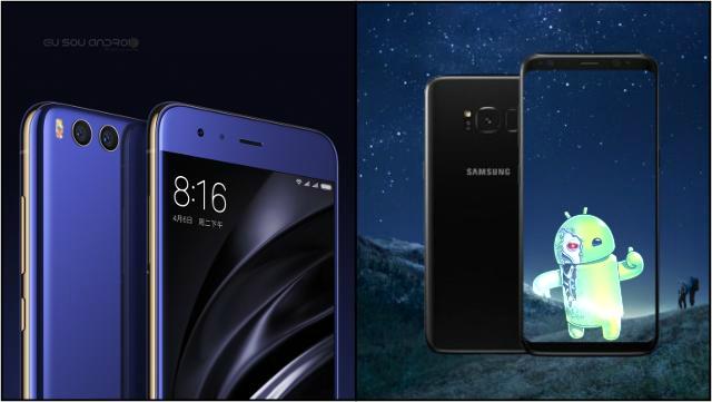 Preço Xiaomi Mi6 vs Galaxy S8