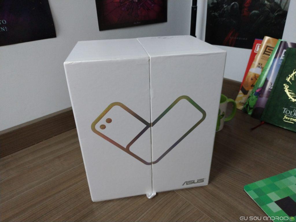 Caixa do Novo Zenfone 4 toca musica tema we love photo
